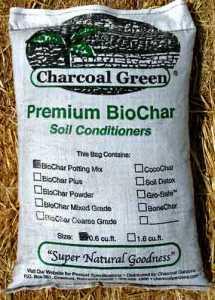 Charcoal Green® PREMIUM BIOCHAR POTTING MIX